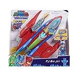 Pyjamasques, Rescue Jet, avec 1 figurine 7,5 cm, Sonore et Lumineux, Jouet pour enfants dès 3 ans, PJMB7
