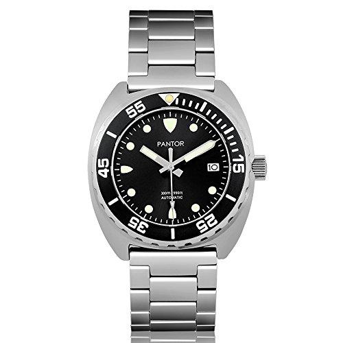 Pantor Sealion 300m Pro Dive Watch, 42mm Automatic...