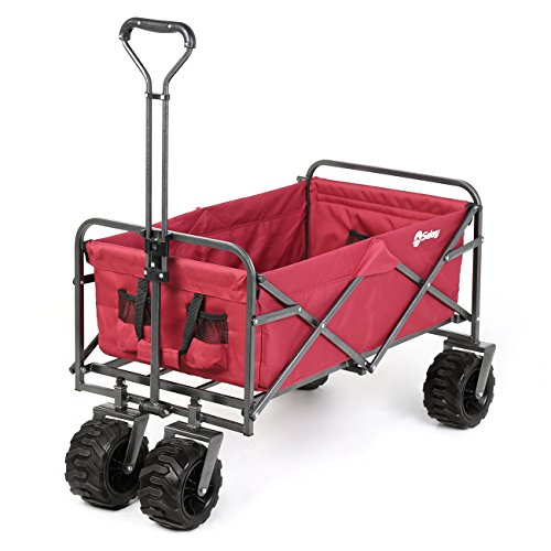 Sekey Folding Wagon Cart Collapsible...