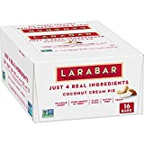HEALTHY SNACKING: With 100% real ingredients and no artificial sweeteners, you can Raise A Bar to what you love. Larabar makes simple healthy snacks you can feel good about eating MADE FROM 5 SIMPLE INGREDIENTS: Larabar Coconut Cream Pie is made from...