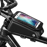 Grefay Fahrrad Rahmentaschen Wasserdicht Farhrradlenkertasche Oberrohrtasche Handytasche Geeignet für...