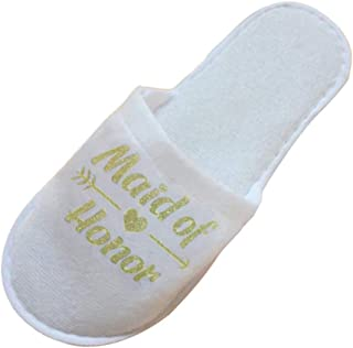 Baoblaze One Sie Wedding Slippers - Bride, Maid of Honor, Bridesmaid - Hen Party Gift, Wedding Engagement Gift