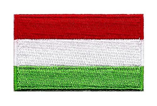 Gemelolandia Parche Termoadhesivo Bandera Hungría