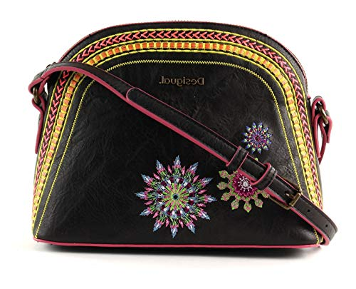 Desigual Ada Deia Across Body Bag Marron Oscuro