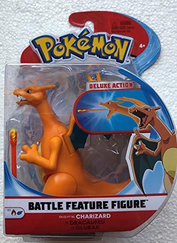 Pokémon 95132 Pokemon Figura de Batalla de 4.5 Pulgadas - Charizard