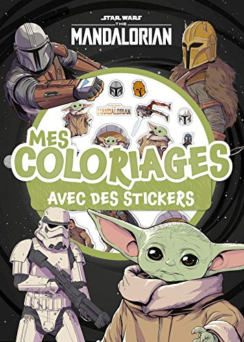 THE MANDALORIAN - Mes Coloriages avec Stickers - Star Wars