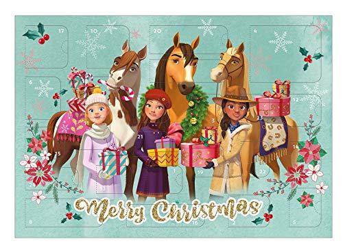 Adventskalender – spirit- paarden – schrijfwaren – knutselgerei – adventskalender – hiermee wordt de tijd vóór kerst heerlijk spannend achter de 24 deurtjes vind je leuke dingen