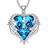 CDE Angel Wing Mom Necklaces for Women Embellished with Austrian...