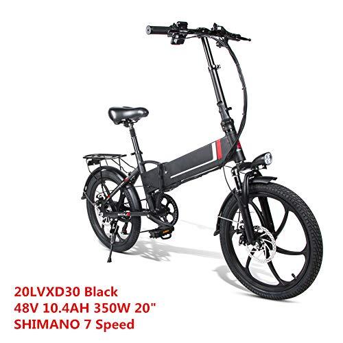 LCLLXB Bicicleta Eléctrica Bicicleta de Cuadro de Aluminio Ligero con Frenos de Disco Bicicleta de Carretera Híbrida para Hombre/Mujer,A