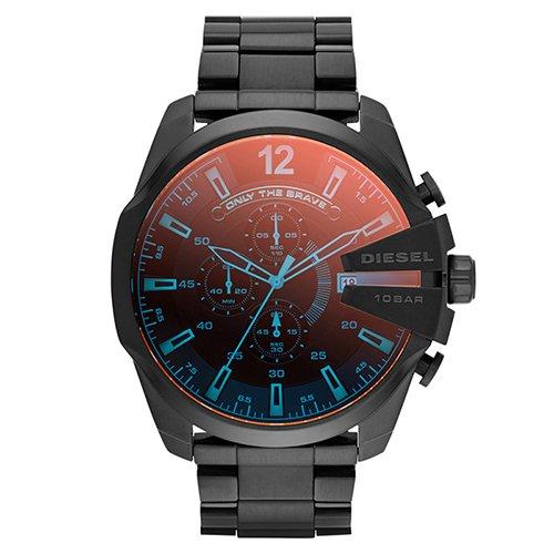 Relogio Diesel Mega Chief Cronograph Dz4318/1pn Masculino