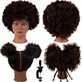 Mannequin Head 100% Human Hair Training Head...