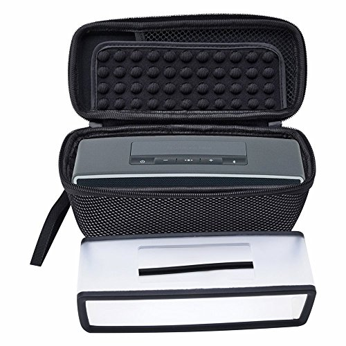 poschell Viaje Altavoces Buzón con transparente Soft Cover para Bose SoundLink Mini I y II Mini Bluetooth altavoz