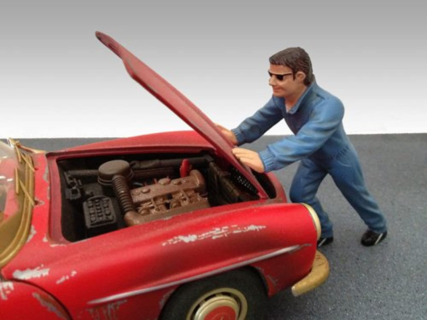 Mechanic Ken Figure For 1 18 Models by American Diorama 23790