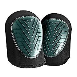 Kneepad garden - gel 1 pair - knee pads / knee pads / knee pads QUMAXX for home and garden work with Velcro