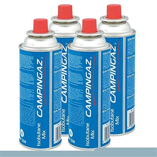 Campingaz Ventil-Gaskartusche CP 250-450ml Isobutane Mix (4er Pack)