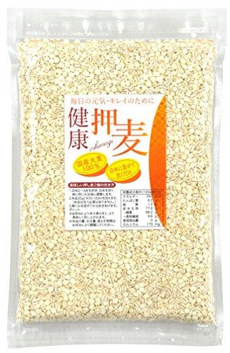 健康押麦 (押し麦) 国内産 600g 味源