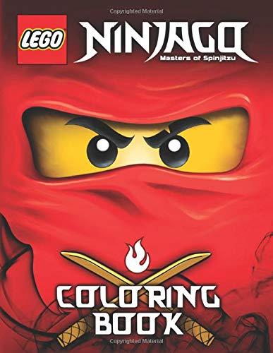 LEGO Ninjago Coloring Book: High Quality Coloring Book (Jumbo), Coloring Book for Kids