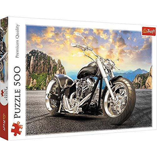 Brandsseller Puzzle de 500 piezas, diseño de moto