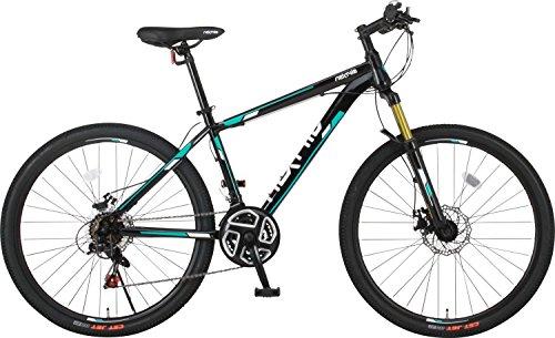 NEXTYLE(ネクスタイル) マウンテンバイク 26インチ MNX-2612 シマノ製21段変速 ライト付属 メーカー