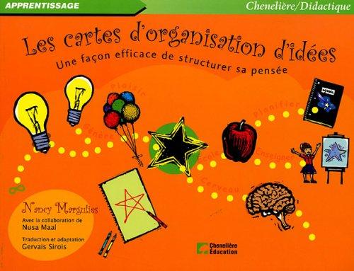Les cartes d'organisation d'idées : Une façon efficace de structurer sa pensée