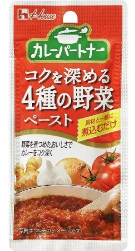 ハウス カレーパートナーコクを深める4種の野菜ペースト 38g×5個