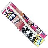 アズマ カーペット掃除用ブラシ おそうじブラシかきとーる 全長29cm カーペットに絡み付いた毛・ホコリを簡単にかき集めるラバー製ブラシ BA733