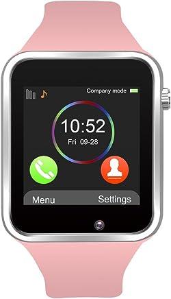 d32bd31f2 Reloj Inteligente, Jukkarri con Bluetooth y Ranura para Tarjeta SIM para  Usar Como Teléfono Móvil