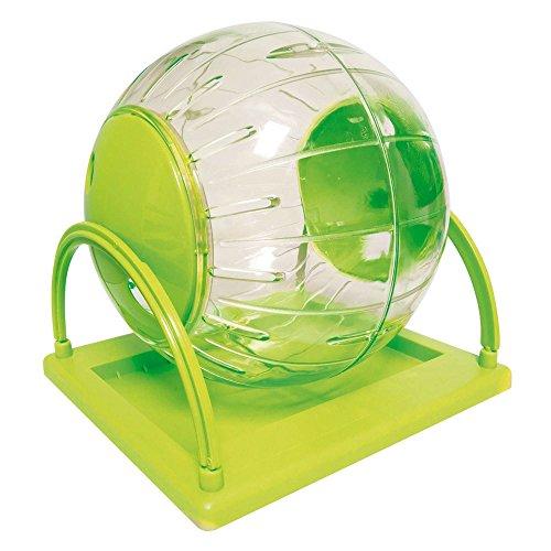 ICA gp10579 Accessoire de récréation Boule d'exercice Plastique avec Base pour Hamster
