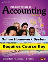 Aplia for Gilbertson/Lehman/Gentene's Fundamentals of Accounting: Course 1, 10th Edition