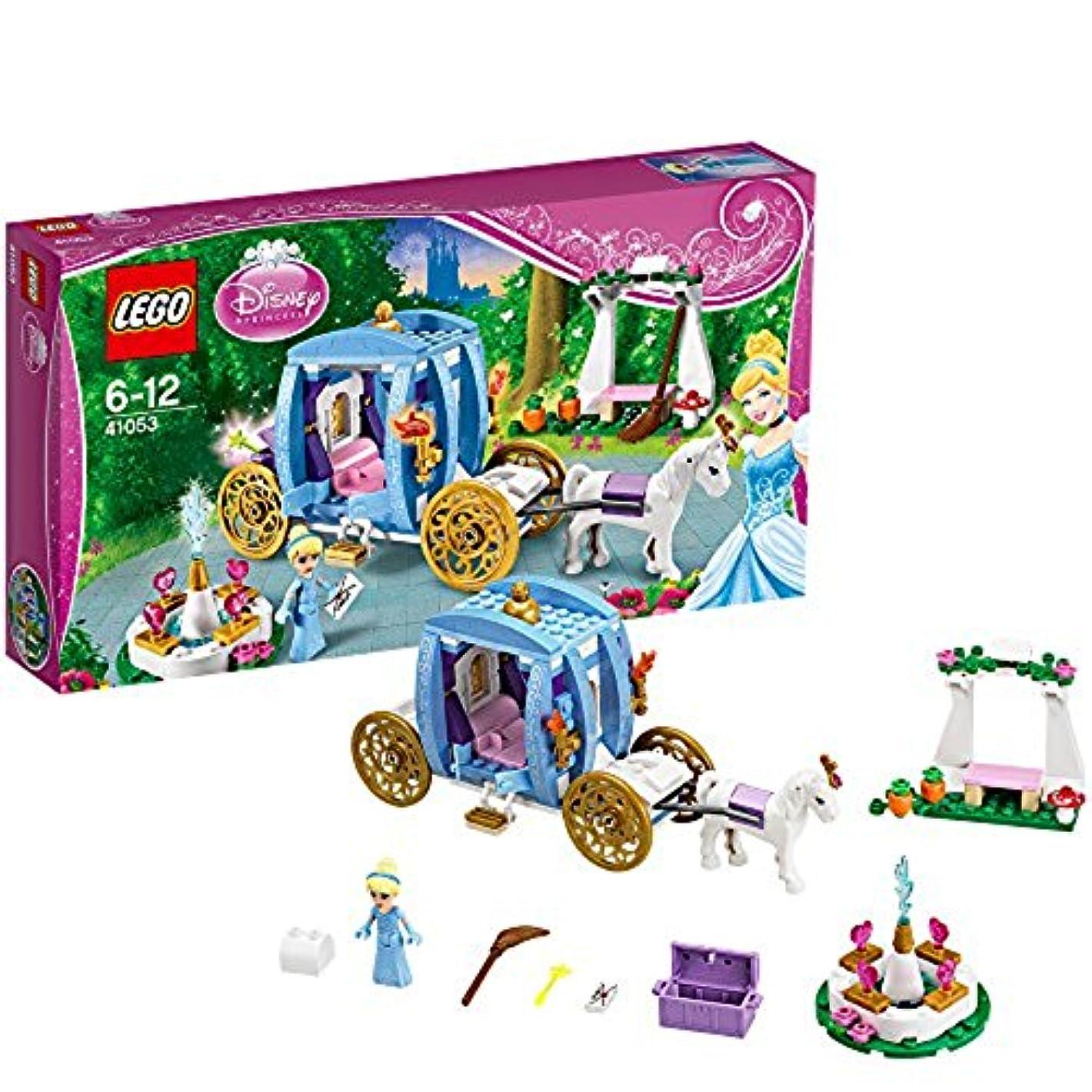 ポーズ豊富生き残りますレゴ (LEGO) ディズニープリンセス シンデレラのまほうの馬車 41053