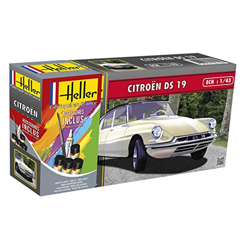 Heller Set de Regalo para Citroen DS 19