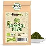 Bio Brennesselpulver (500g)   Rohkost   Brennesselblätter gemahlen   grünes Bio Smoothie Pulver   Brennesselblattpulver