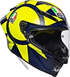 CASCO INTEGRALE AGV PISTA GP R TOP SOLELUNA 2018 TG. ML