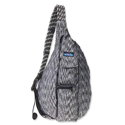 KAVU Original Ropercise Sling Bag Gym Yoga Crossbody Bag - Zebra