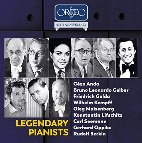 40th Anniversary Edition - Legendary Pianists [10 CD-Box]