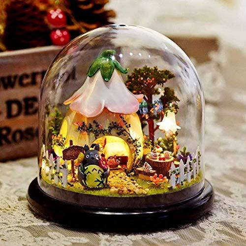 GANE Pretty Ferris Wheel Music Box Cajas Musicales románticas de Madera para Regalo del día de San Valentín Regalo de cumpleaños Girlfriend Fashion (Caja de música de la Rueda de la Fortuna)