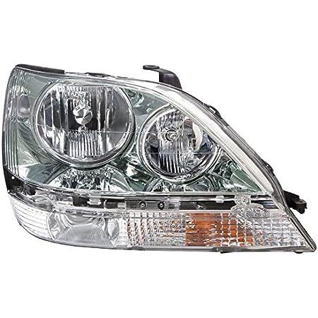 Larson Electronics 1015P9JHUQS -Black LED 2001 Lexus RX 300 Post mount spotlight 6 inch Passenger side WITH install kit