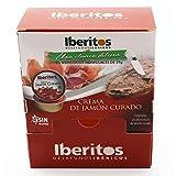 Iberitos - Crema De Jamon Curado - Dispensador De Monodosis 20 X 23 Gr