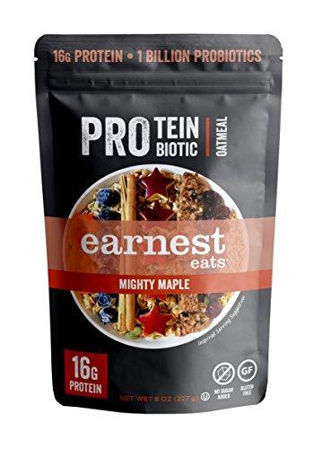 Earnest Eats PRO: Protein + Probiotic Superfood Oatmeal, Gluten Free,...