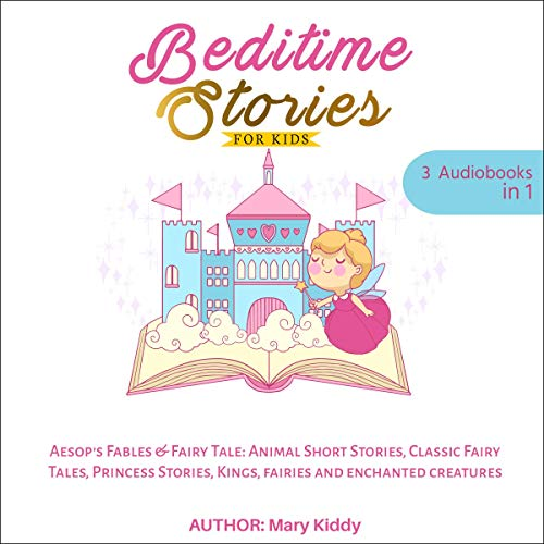 Bedtime Stories for Kids: Aesop's Fables & Fairy Tale audiobook cover art