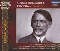 Bicinia Hungarica Tricinia (Complete) (3CD) by BUDAPEST ZOLTAN KODALY GIRL'S CHOIR (coro) (2013-07-18)
