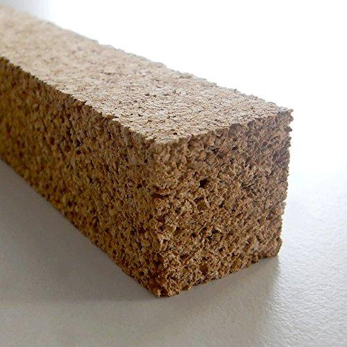 Korkstreifen natur 22 x 25 x 900 mm // für Modelbau, Dehnungsfugen, Basteln uvm. (10 Stk.)