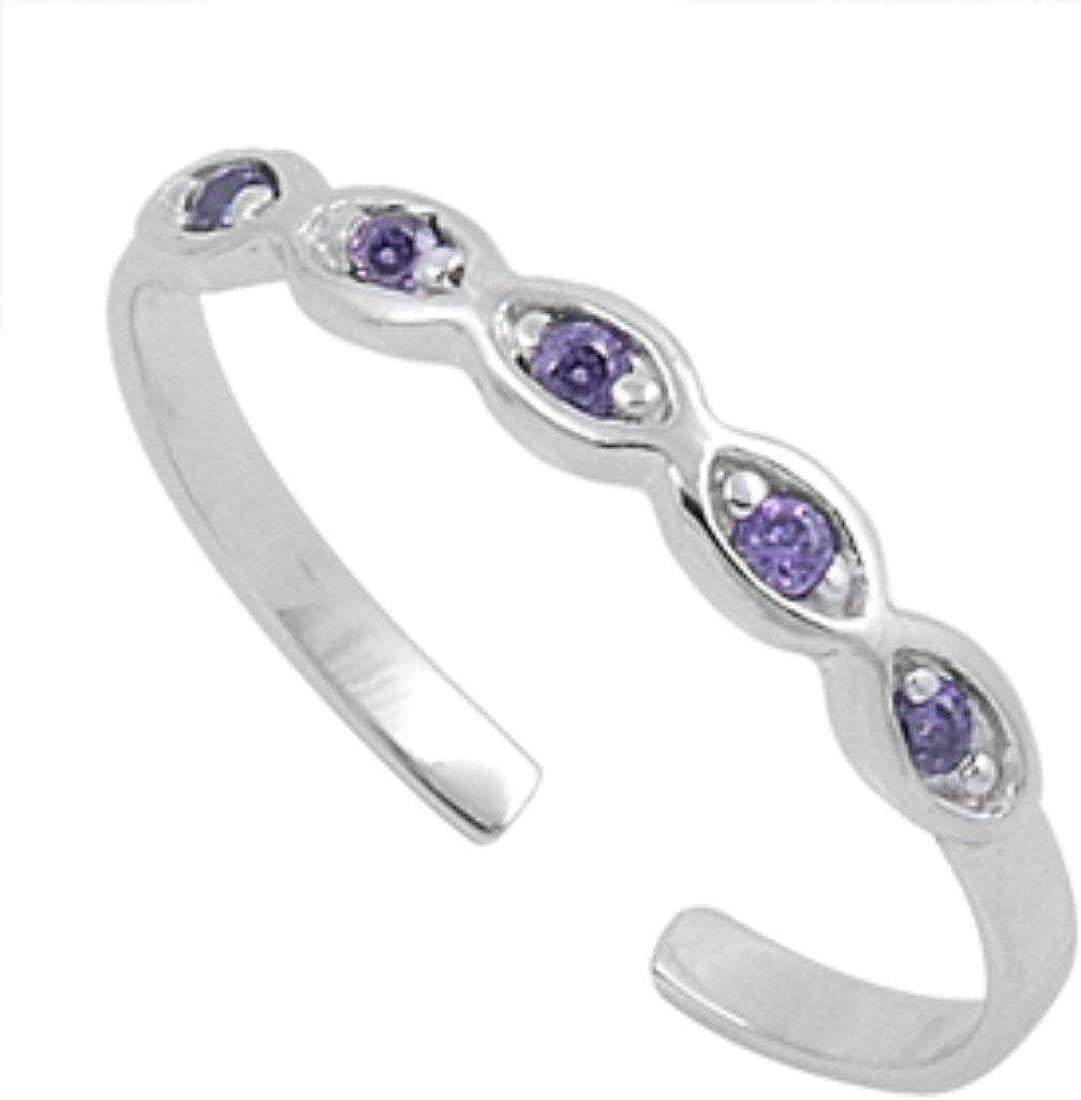 Hearts Toe Ring \u2022 925 sterling silver toe ring \u2022 Adjustable Toe Ring \u2022 Solid Toe Ring \u2022Little Finger Ring \u2022 Pinky Ring \u2022 Knuckle Ring