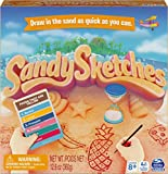 Sandy Sketches Sand Drawing Guessing Board Game, Family Game for Ages 8 and up