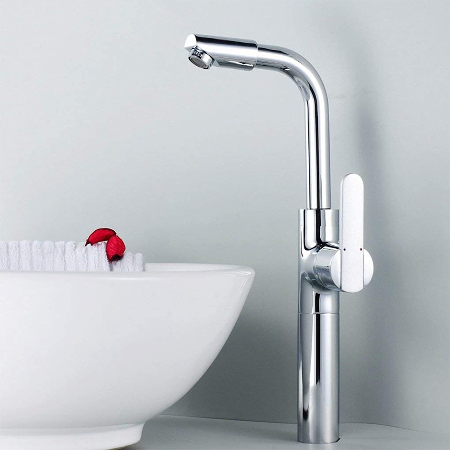 FEI Full Copper on the Table Pots Faucet Basin Faucet Hot and Cold Wash Basin Faucet