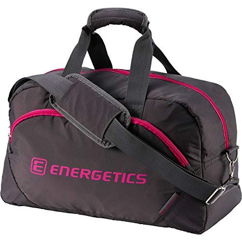 ENERGETICS Fitnesstasche adiva Tasche, Grau/Kirsche, One Size