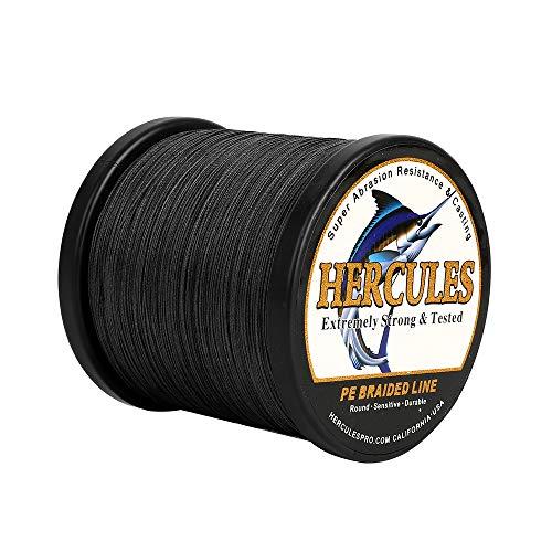 HERCULES gevlochten vislijnen PE Superline 100-2000m 109-2187yds 6-100lbs Test 4 strengen