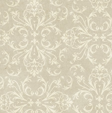 Victorian Baroque Wall & Floor stencil - 7.5 mil standard