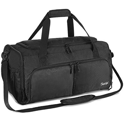 Sucipi Sporttasche für Damen und Herren, Reisetasche mit Schuhfach und Nassfach, Große Kapazität und Wasserdicht für Wochenendtasche, Gym Bag, Trainingstasche, Schwimmtasche, Saunatasche