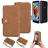 K-S-Trade® 2in1 Mobile Phone Wallet Case For Vestel V3